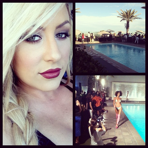 Fashion Show  (Taken with Instagram at The Rooftop Pool At The London)