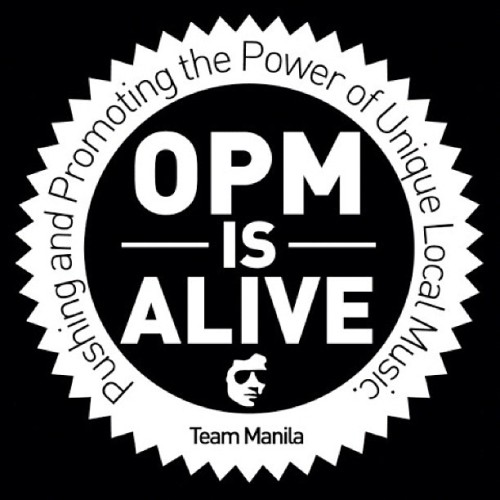 OPM IS NOT DEAD. (Taken with Instagram at Teammanila graphic design studio)