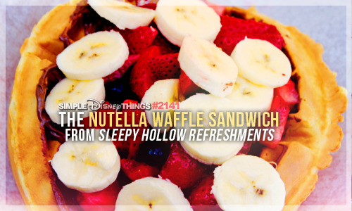 simpledisneythings:  You heard right. Nutella.  this is a thing?! wtf why have I never had this?????