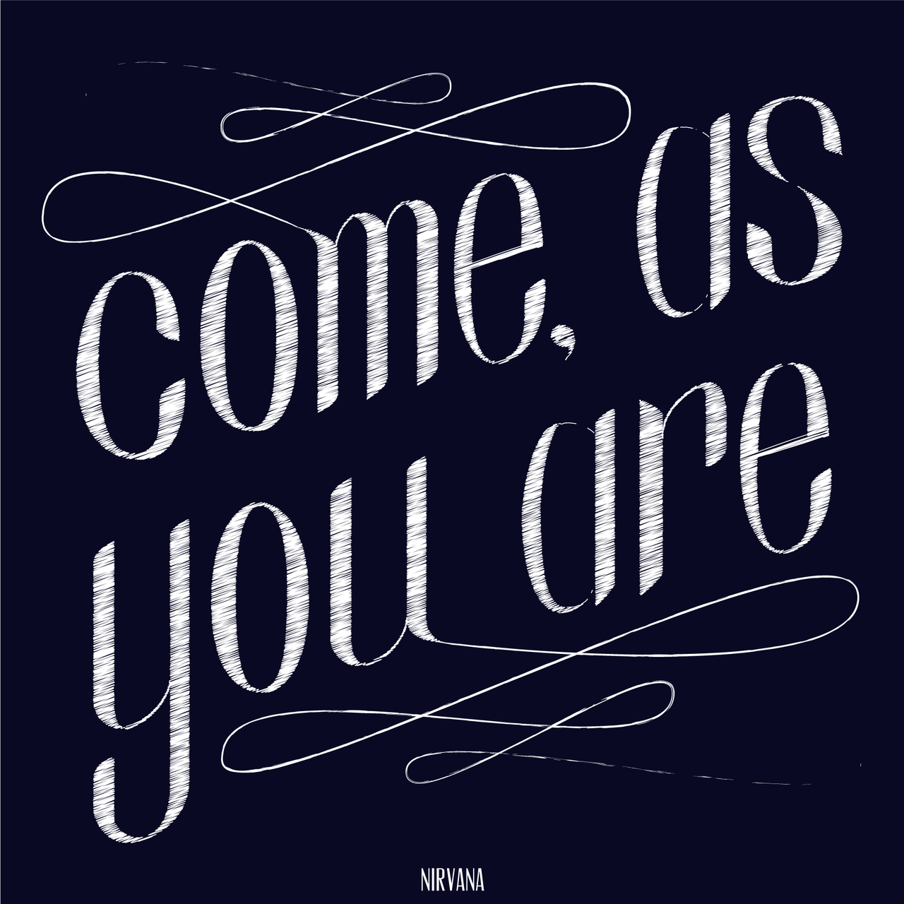 A little project I've been working on: typographical illustration of song lyrics.  Thoughts?