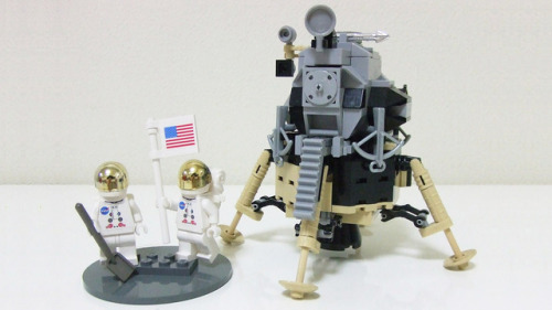 Vote for this amazing #Apollo11 LEGO set, and it might get made! (via LEGO® CUUSOO | Apollo 11 Lunar Mission)
