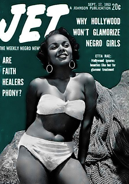 thegoddamazon:  nipsndnaps:  black-pinup:  Why Hollywood won't glamorize Negro girls  We're still asking this question  To glamorize us would present a threat to their precious Eurocentric paradigm.