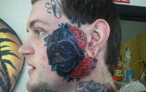That is some serious dedication to Star Wars, dude.