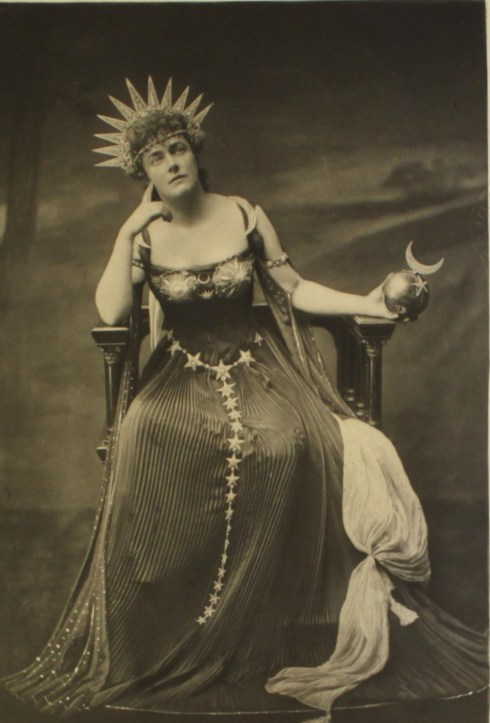 maudelynn:  Lady Gerard as Goddess Astarte at the Duchess of Devonshire's Costume Ball c.1897