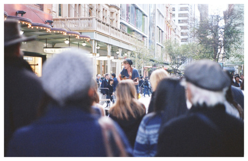 #672: This is how I see Pitt St Mall.