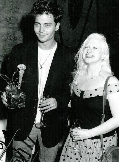 Johnny Depp and Kim McGuire