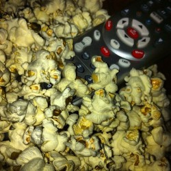 #popcorn & #TCM (Taken with Instagram at The Big Comfy Couch)