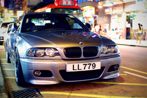 BMW M3 spotted somewhere in Mong Kok, Hong Kong, China (photo credit: rupert procter)