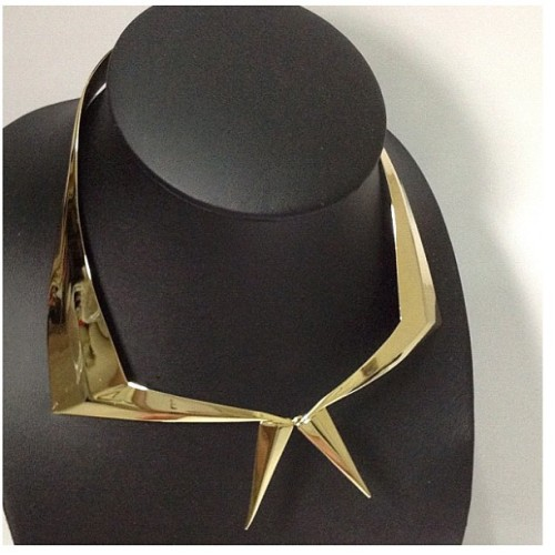 Maryam Keyhani - Loria #necklace #gold #fashion #instagood #instamood #instadaily #instagramers #instagramhub #instafashion #igers #ignation #igsg #sgig #hideandseeksg #statigram #tweegram #webstagram #brunika #jj #picoftheday #bestoftheday #all_shots available @hideandseeksg  (Taken with Instagram)
