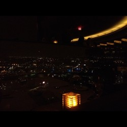 The view from spindletop 😍 #view #night #lights #instagood #instadaily  (Taken with Instagram)