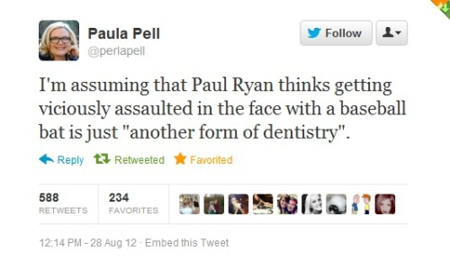 echollsing:  Another Reason NOT to Vote Romney/Ryan: Paul Ryan thinks that rape is just another 'method of conception'. (x)  Yes. You should vote for Romney. You get this guy too! T_T