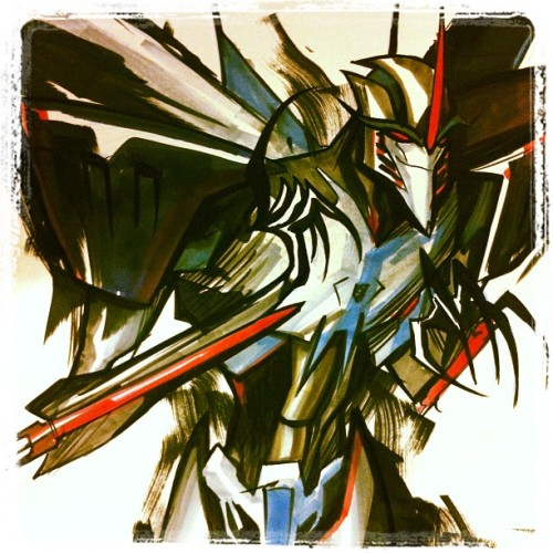 xombiedirge:  Starscream by Jose Lopez / Website