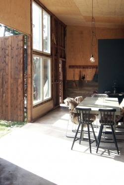 cjwho:  Before & After: A Garage Turned Summer House in Sweden