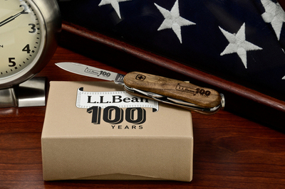 L.L. Bean x Wenger 100th Anniversary EvoWood Swiss Army Knife | Anchor Division
