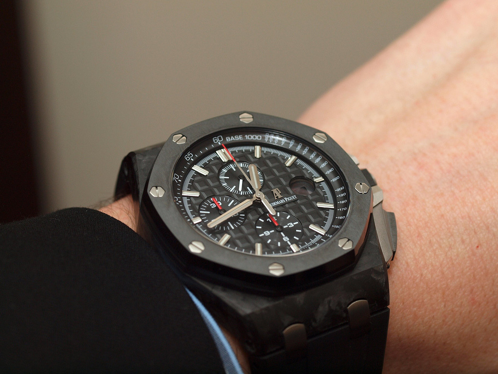 "On my ""Dream"" list.  bespoketwins:  Audemars Piguet Royal Oak Offshore"