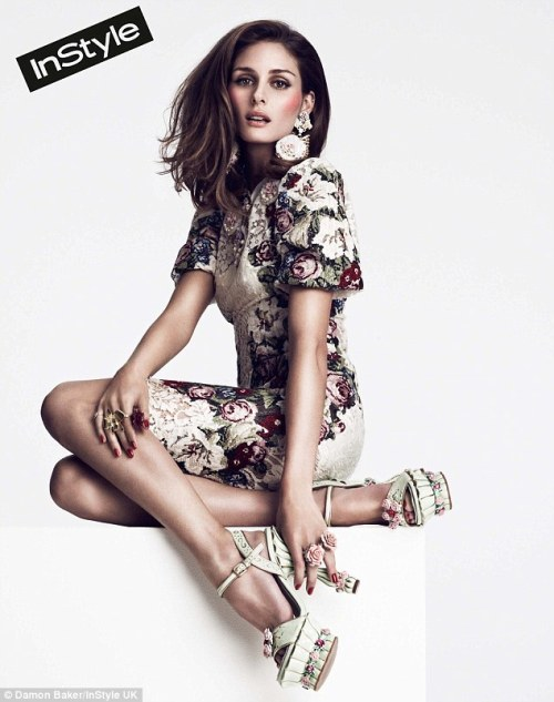 Olivia Palermo for In Style  photo by Damon Baker