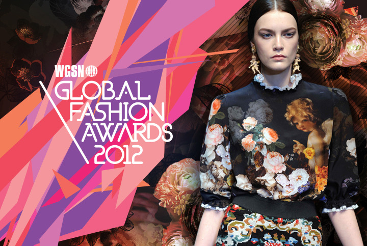 Via hellomuller — WGSN 2012 Global Fashion Awards brand identity. This guys seems super nice IRL, but I kinda wish he'd stop designing and leave some for the rest of us you know?