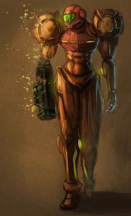 assorted-goodness:  Samus - by Conceptfox
