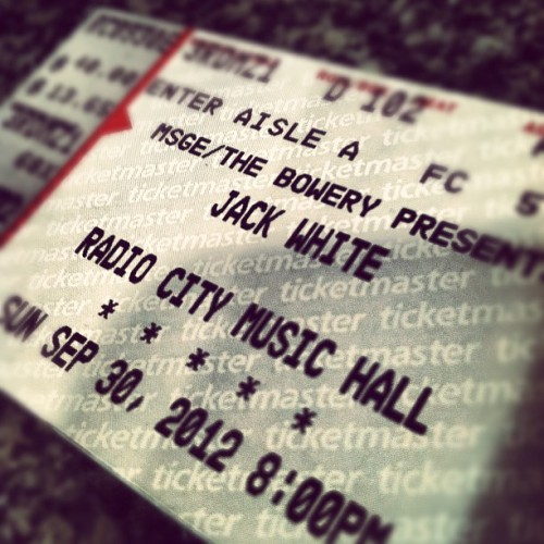 Still a month away but very, very excited. (Taken with Instagram)