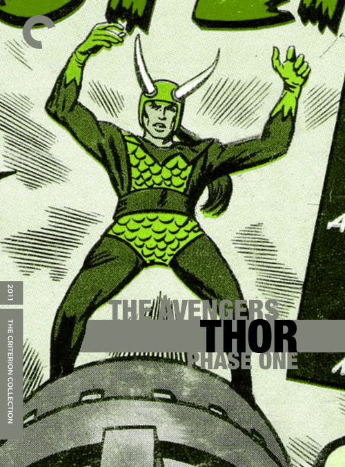 Fake Criterions for The Avengers: Phase One