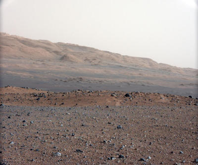 Mars from the 34mm mastcam (NASA/JPL)