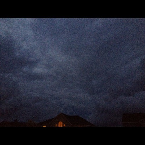 Nasty storm last night! (Taken with Instagram at Bach By The Sea)