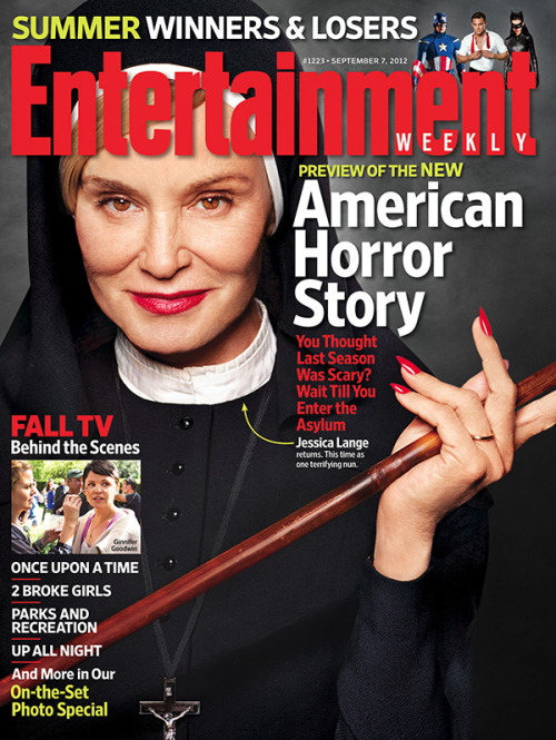 entertainmentweekly:  This Week's Cover: An exclusive tour inside 'American Horror Story: Asylum'