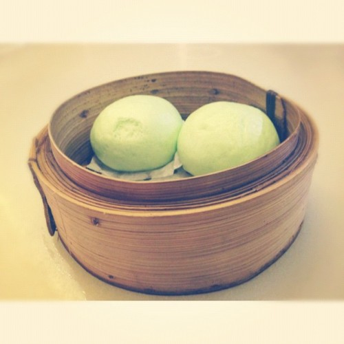 supper, just for the three dollars!(: @mevseworld #whitagram #baotoday #313somerset #food #foodporn  (Taken with Instagram at Bao Today)