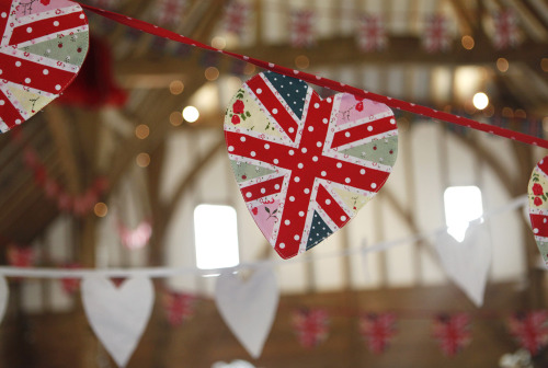 Our Union Jack heart bunting has been a real hit this summer! Get yours today