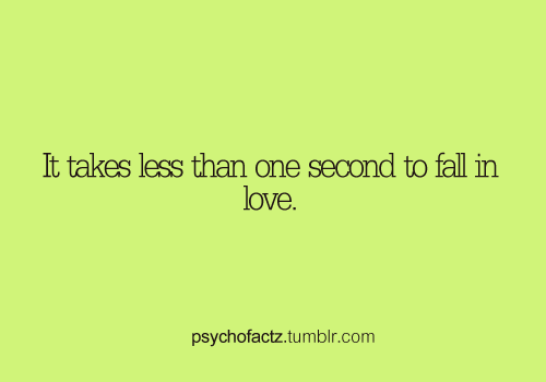 psychofactz:  More Facts on Psychofacts :)  #love #fact