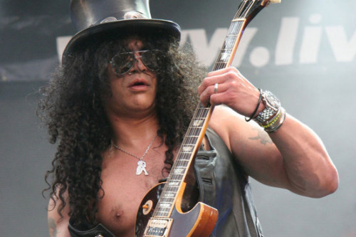 "Slash: ""I caught my mum naked with David Bowie."" The NME has the story."