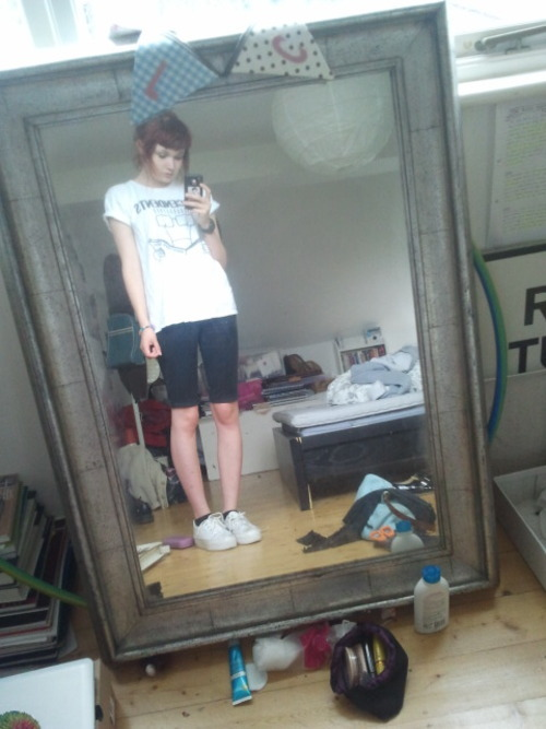 knobbly knees and i look like a boy