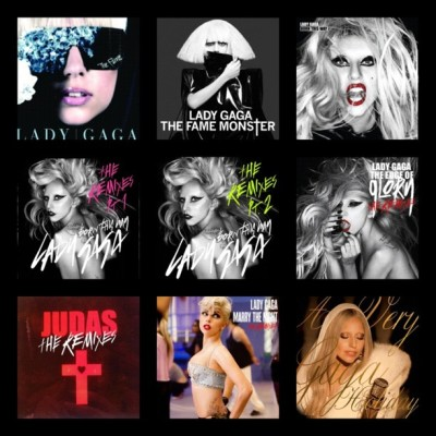 A few of the albums I bought physical/digital copy ! #ladygaga#thefame#thefamemonster#TF#TFM#bornthisway#BTW#theremixes#TEOG#theedgeofglory#judas#MTN#marrythenight#averygagaholiday#itunes#littlemonster#queenofpop#goddessofpop#pop#popmusic#gaga#love  (Taken with Instagram)