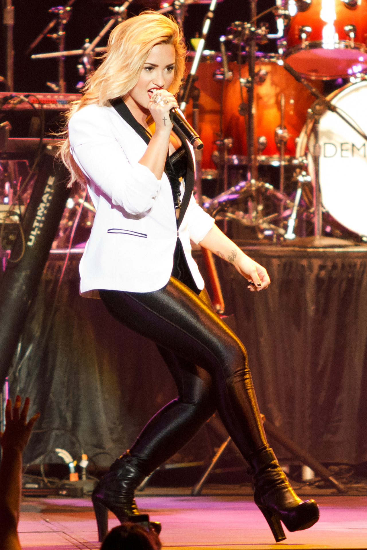 [Gallery] Demi Lovato at the Minnesota State Fair yesterday.