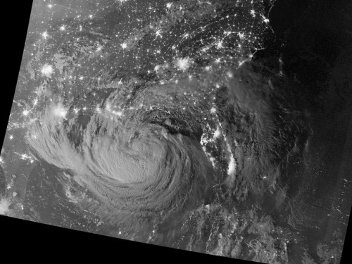 mashable:  Satellite photo of Hurricane Isaac traversing the Gulf of Mexico. Via NASA.