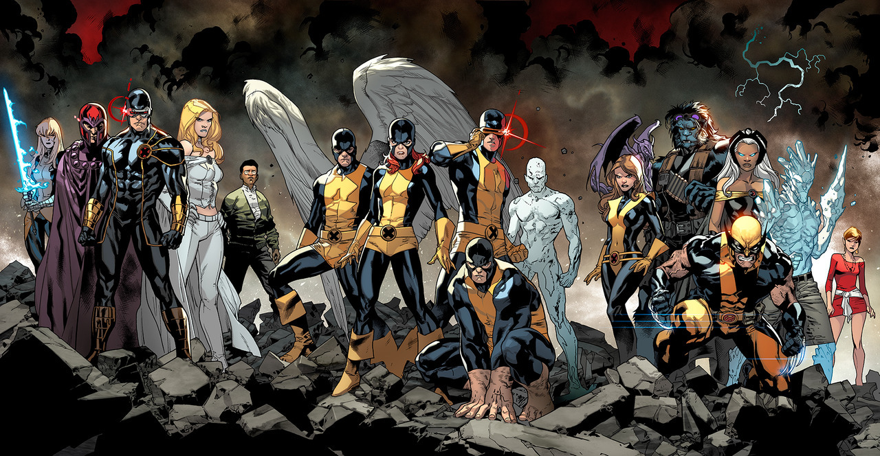 All New XMEN 01 and 02 COVER. by =MarteGracia