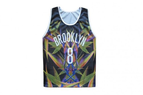 Wil Fry debuts a Givenchy Bird of Paradise #8 Brooklyn Nets jersey