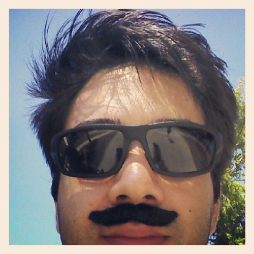 Mustache far2fresh  (Taken with Instagram)