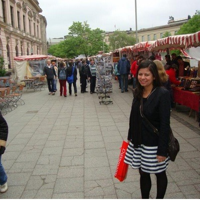 Triptrotter of the Day: Daphne. Daphne can host in Berlin, Germany and speaks English, Spanish and Portuguese. Message her to find out more about her city!