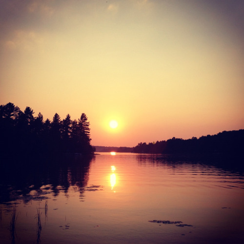 Lake Cecebe in Muskoka, Ontario