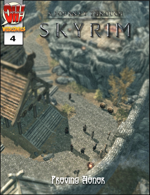 With the fourth issue of my webcomic series: A Journey Through Skyrim out, we are hitting nearly 100 pages of free comic now.  Thanks to anyone taking the time to read and keep up with this (probably year long) project.