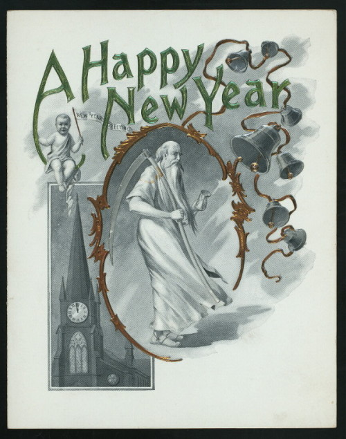 Wishing you a happy new year, Tumblr! Menu from the Clegg Hotel, Greensboro, NC, 1906.  Source: Miss Frank E. Buttolph Menu Collection, NYPL Rare Books Division.