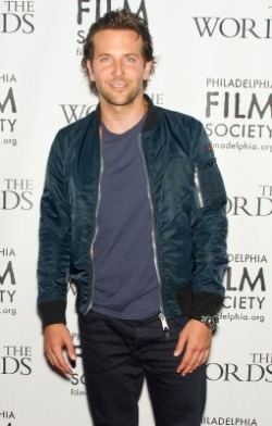 Bradley Cooper rocking our Light Navy Basic Crew on Aug. 27th.