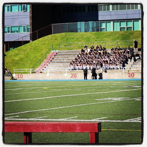 @SMUHuskies football photo day (Taken with Instagram)