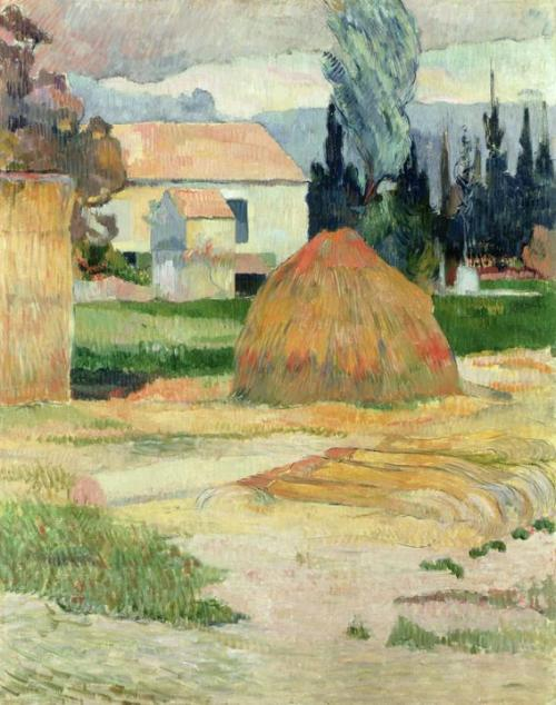 Paul Gauguin, 1888, Landscape Near Arles