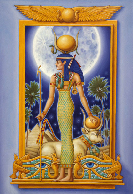 worldofmythology:  Hathor - The Ancient Egyptian Fertility Goddess of Love, Joy, and Motherhood  diosa de la fertilidad ,amor..LA MADRE!