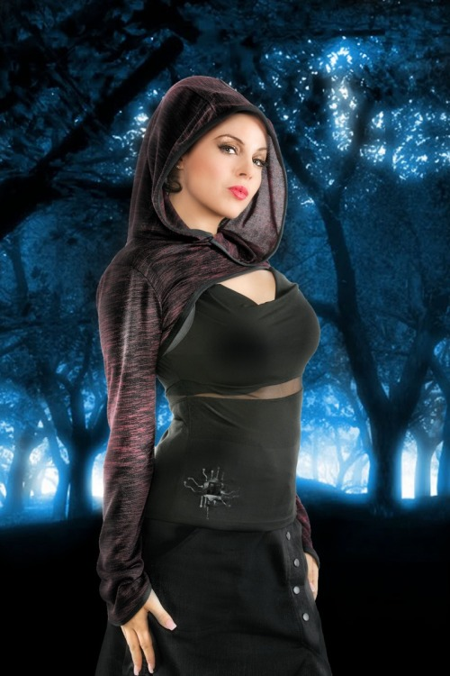 fashion plastikwrap style grown up goth witch withc style forest cyberpunk