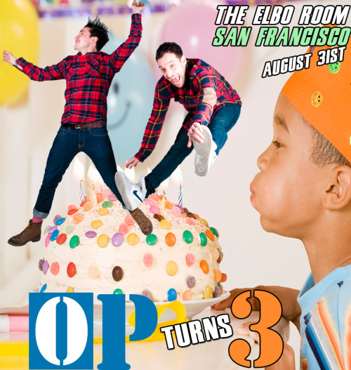 Friday in San Francisco! Celebrate 3 years of Original Plumbing magazine with a birthday party to remember…