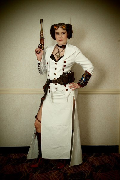 Steampunk Princess Leia