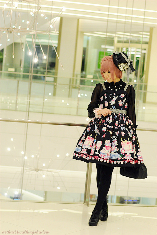 shadow-walk:  A quick coord with Merry Making Party on Saturday :)